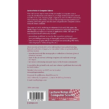 Decision and Game Theory for Security: Second International Conference, GameSec 2011, College Park, MD, New Book (9783642252792)