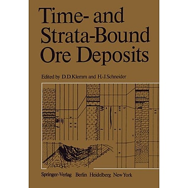 Time- and Strata-Bound Ore Deposits, New Book (9783642668081)