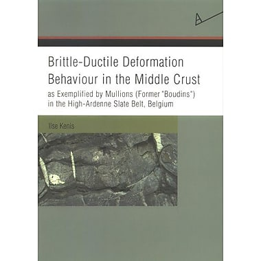 Brittle-Ductile Deformation Behaviour in the Middle Crust as Exemplified by Mullions(Former