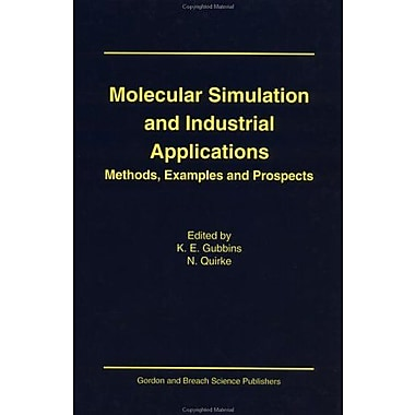 Molecular Simulation Industria (Pier World Education Series), New Book (9789056990053)