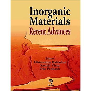 Inorganic Materials: Recent Advances, New Book (9788173195105)