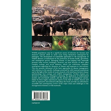 Management of Disease in Wild Mammals, Used Book (9784431771333)