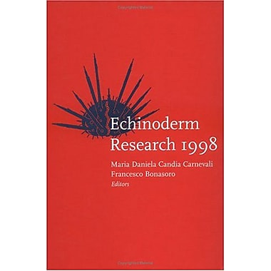 Echinoderm Research 1998, New Book (9789058091024)
