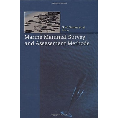 Marine Mammal Survey and Assessment Methods (9789058090430)