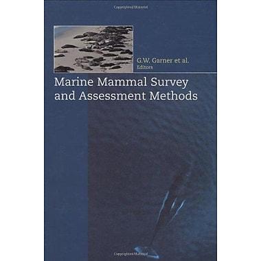 Marine Mammal Survey and Assessment Methods, New Book (9789058090430)