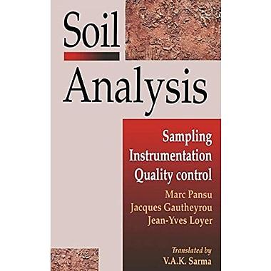 Soil Analysis (9789054107163)