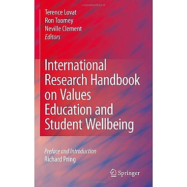 International Research Handbook on Values Education and Student Wellbeing, Used Book (9789048186747)
