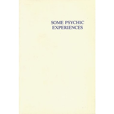 Some Psychic Experiences, New Book (9788787871549)