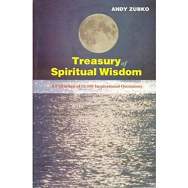 Treasury of Spiritual Wisdom: A Collection of 10,000 Inspirational Quotations, Used Book (9788120817319)