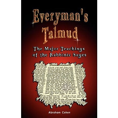 Everyman's Talmud: The Major Teachings of the Rabbinic Sages, New Book (9789562915335)
