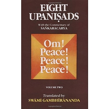 Eight Upanishads, with the Commentary of Sankara, Vol. II, Used Book (9788175050174)