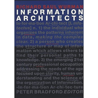 Information Architects, New Book (9783857094583)