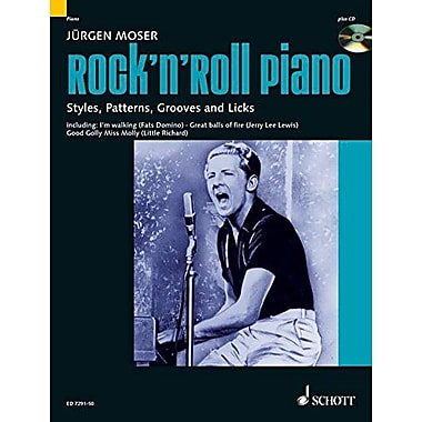Moser J Rock'n' Roll Piano, New Book (9790001134491)