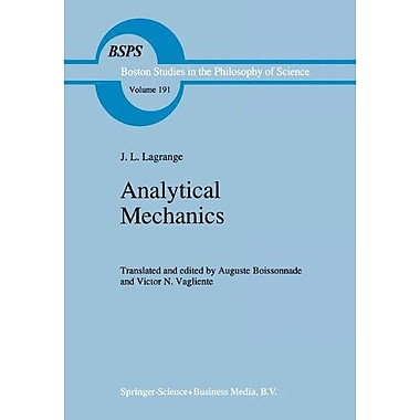 Analytical Mechanics (Boston Studies in the Philosophy and History of Science), New Book (9789048147793)