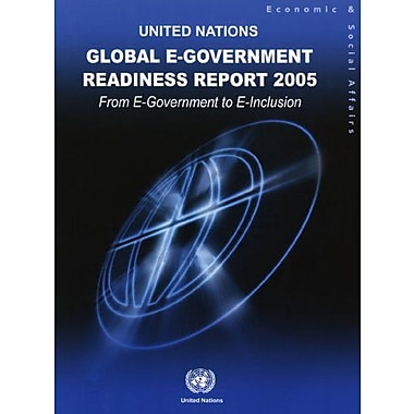 Global E-government Readiness Report 2005: From E-government to E-inclusion, Used Book (9789211231595)
