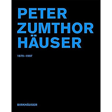 Peter Zumthor Hauser: 1979-1997 (German Edition), New Book (9783764360986)