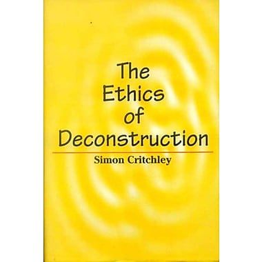 The Ethics of Deconstruction, Used Book (9788120827646)
