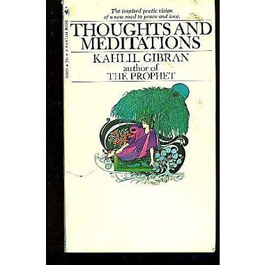 Thoughts and Meditations, Used Book (9788185944692)