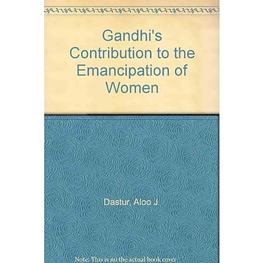 Gandhi's Contribution to the Emancipation of Women, New Book (9788171545360)