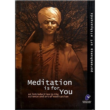 Meditation is for You: An Introduction to the Science and Art of Meditation, New Book (9788190243742)