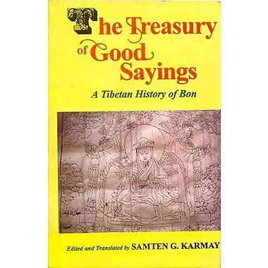The Treasury of Good Sayings: The Tibetan History of Bon, New Book (9788120829435)