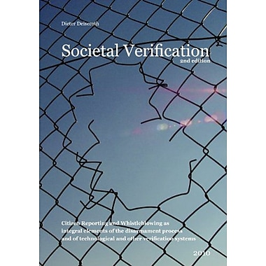 Societal Verification, Used Book (9783837065824)