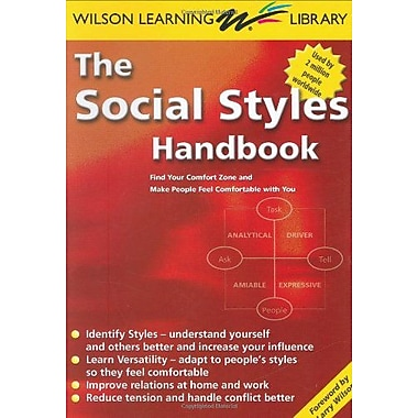 The Social Styles Handbook: Find Your Comfort Zone and Make People Feel Comfortable with You, Used Book (9789077256046)