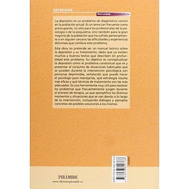 Tratando... depresion (Recursos Terapeuticos / Therapuetic Resources) (Spanish Edition), New Book (9788436820768)