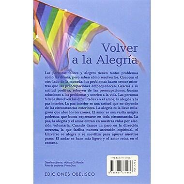 Volver a la Alegria, New Book (9788497771986)