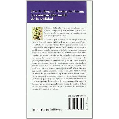 La Construccion Social de La Realidad (Spanish Edition), Used Book (9789505180097)