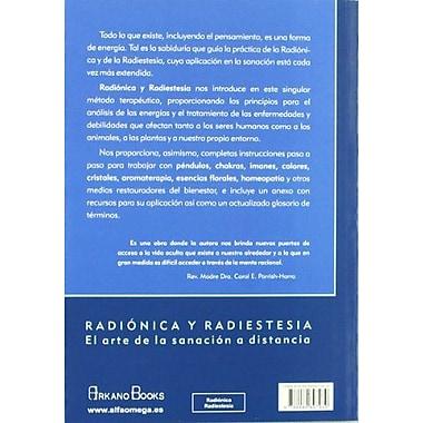 Radionica Y Radiestesia/ Radionics and Radiesthesia: Guia Practica Para Trabajar Con Patrones De Energ, New Book (9788489897939)