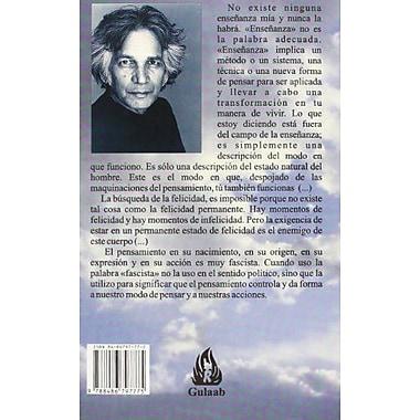 El Pensamiento es Tu Enemigo (Spanish Edition), New Book (9788486797775)