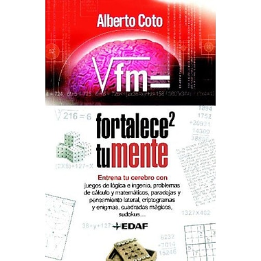 FORTALECE TU MENTE (Spanish Edition), Used Book (9788441420076)