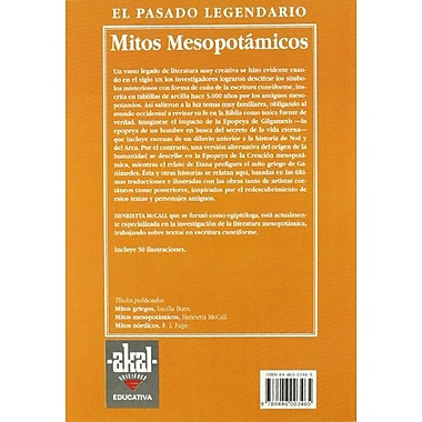 Mitos mesopotamicos / Mesopotamian Myths (Pasado Legendario) (Spanish Edition), Used Book (9788446003465)
