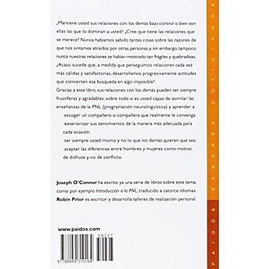 PNL y relaciones humanas / NLP and Human Relations (Spanish Edition) (9788449310164)