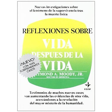 Reflexiones Sobre Vida Despues de la Vida (Nuevos Temas) (Spanish Edition), New Book (9788471665843)