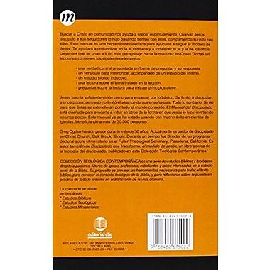 Manual del discipulado: Creciendo y ayudando a otros a crecer(Coleccion Teologica Contemporanea: Estu, Used Book (9788482675022)