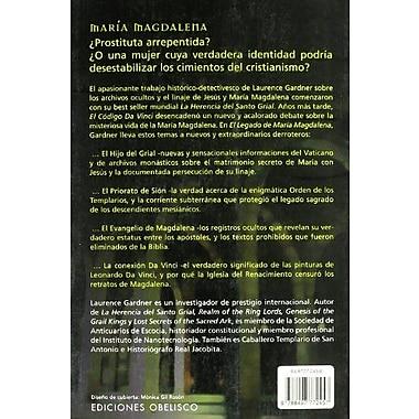 El Legado De Maria Magdalena/the Magdalene Legacy (Spanish Edition), New Book (9788497772457)