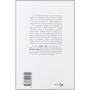 Las Grandes Herejias de La Europa Cristiana (Coleccion Fundamentos) (Spanish Edition), Used Book (9788470901324)
