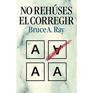 No rehuses el corregir (Spanish Edition), Used Book (9788472289345)