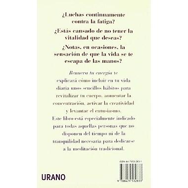 Renueva Tu Energia (Spanish Edition), Used Book (9788479532833)