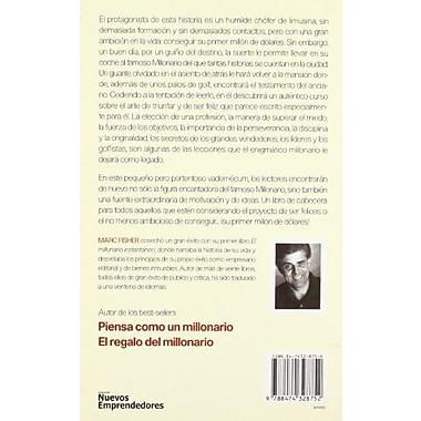 Testamento del Millonario: Un Relato Sobre el Arte Triunfar y Ser Feliz (Spanish Edition), Used Book (9788474328752)