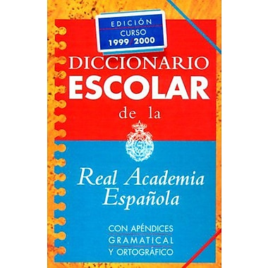 Espasa Escolar: Diccionario De LA Lengua Espanola (Spanish Edition), New Book (9788423966707)