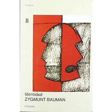 Identidad: Conversaciones Con Benedetto Vecchi / Identity (Filosofia) (Spanish Edition), Used Book (9789500393997)