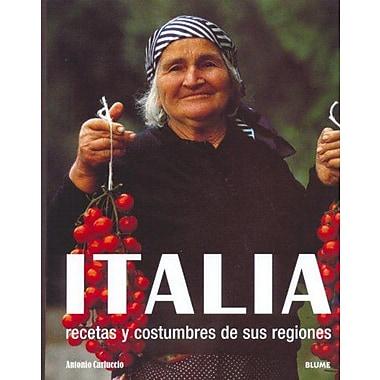 ITALIA, Recetas y Costumbres De Sus Regiones, Used Book (9788480765992)
