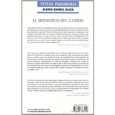 El Monstruo del Cambio = The Change Monster (Spanish Edition), Used Book (9788495787156)