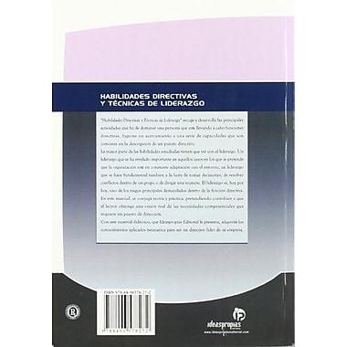 Habilidades directivas y tecnicas de liderazgo / Management Skills and Leadership Skills(Gestion Empr (9788496578272)