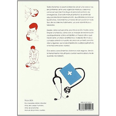 Manual de primeros auxilios/ First Aid Manual (Spanish Edition) (9788466212069)