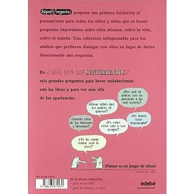 Que son los sentimientos? / What are the feelings? (Superpreguntas) (Spanish Edition) (9788423672431)