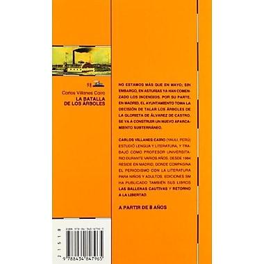 LA Batalla De Los Arboles (Barco De Vapor) (Spanish Edition), Used Book (9788434847965)